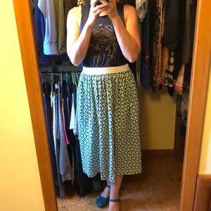 Orla kiely skirt medium birdwatch